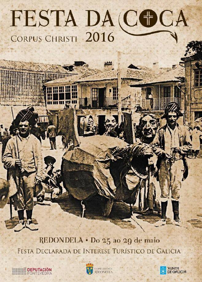 Fiesta da Coca - Corpus Christi en Redondela