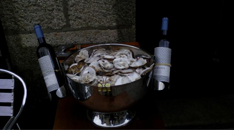Marisco, cerveza...septiembre en Vigo