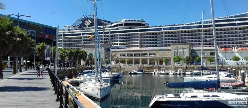 Puerto Náutico de Vigo y Trasatlánticos